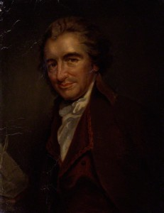 A portrait of Thomas Paine